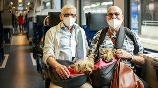 Peu masqués, les pendulaires neuchâtelois sont plutôt favorables aux nouvelles mesures