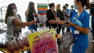 Coronavirus: 200 pommes d'amour pour remercier le personnel soignant neuchâtelois