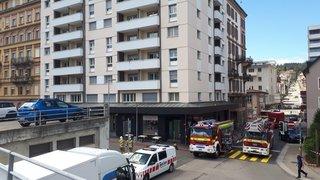 La Chaux-de-Fonds: début d'incendie sans gravité à la tour de la gare