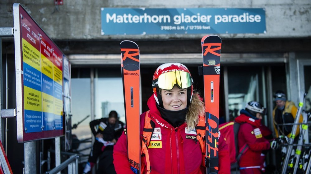 La «nouvelle normalité» de Mélanie Meillard: pouvoir skier sans douleurs.