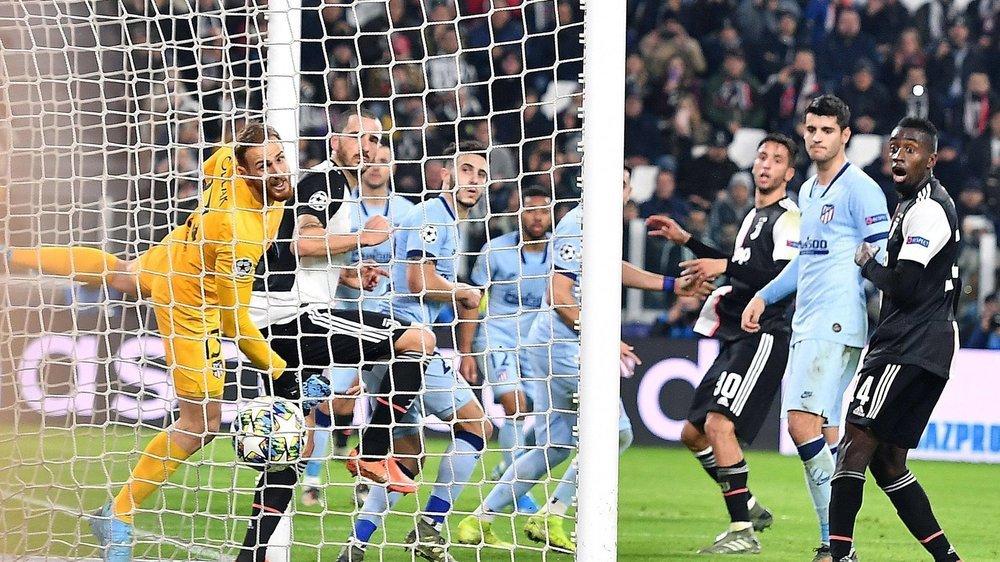 Les matches de Ligue des champions (ici Atletico Madrid - Juventus) n'enregistrent pas tous des audiences très élevées.