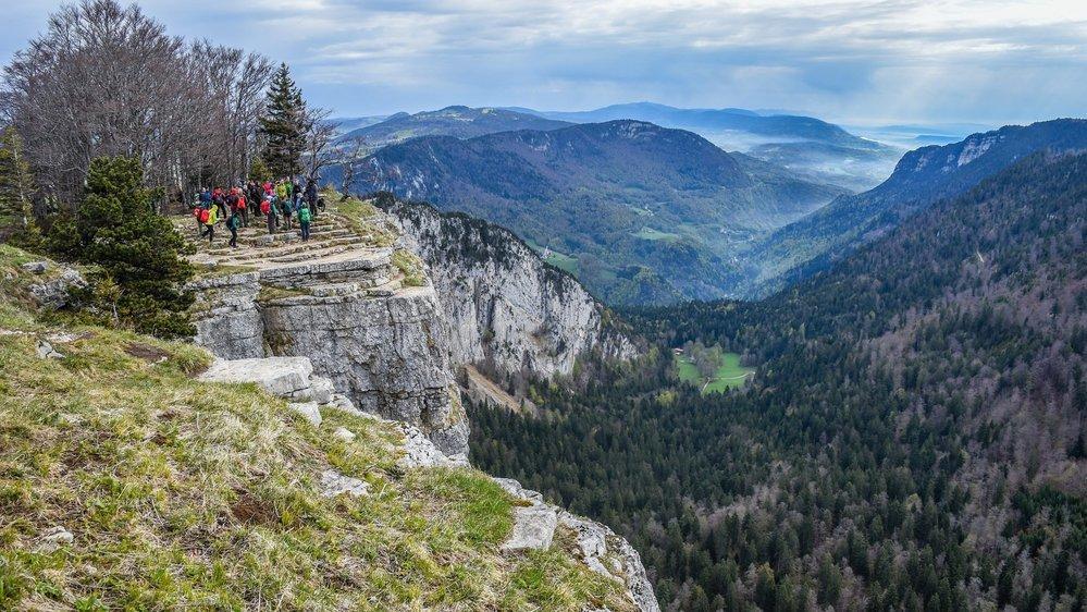 Le Creux-du-Van, site phare du Val-de-Travers. La vallée souhaite renforcer sa position touristique via un nouveau projet dévoilé ce jeudi.