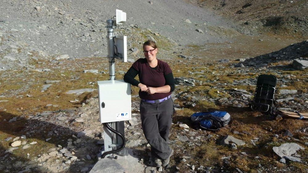 Cécile Pellet estime que la disparition pourrait favoriser l'apparition de chutes de pierres et des éboulements dans les montagnes.