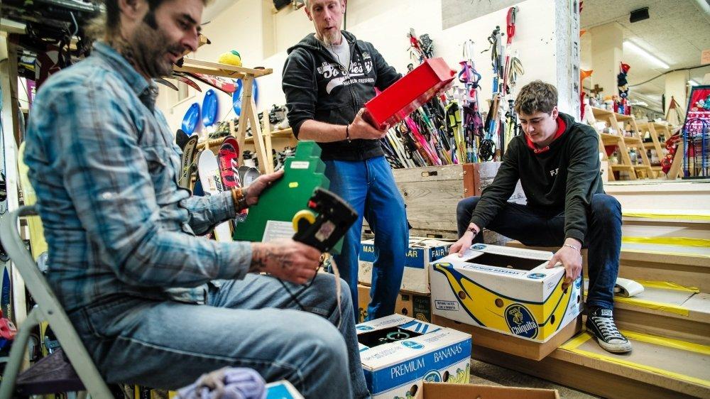 Après l'épisode Covid, l'activité dans les magasins Emmaüs de La Chaux-de-Fonds et La Joux-Perret a repris en flèche.
