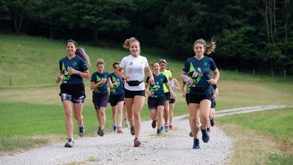 Les membres du Cross-club des Fées du Val-de-Travers ont disputé cette étape dans la joie et la bonne humeur.