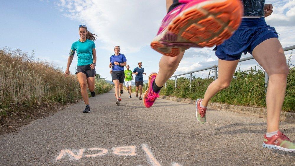 Les coureurs sont de plus en plus nombreux à participer à une étape. Celle des Geneveys-sur-Coffrane (ici) rencontre le plus grand succès.