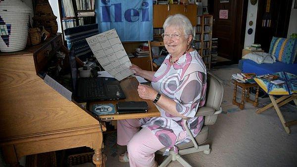 Habitante des Brenets, Mireille Grosjean est présidente de la Ligue internationale des enseignants espérantistes.