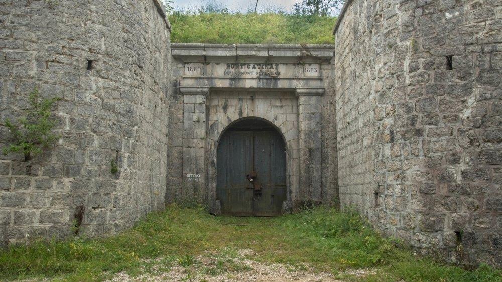 Le fort désaffecté de Catinat, sur les hauts de Pontarlier: le lieu d'un crime particulièrement sordide.
