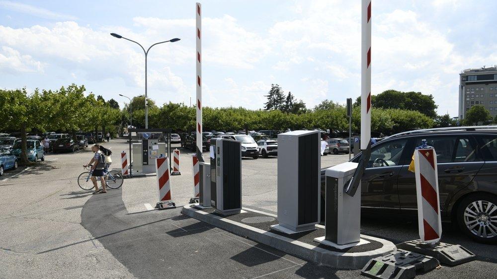 Les nouvelles barrières automatiques du parking des Jeunes-Rives.