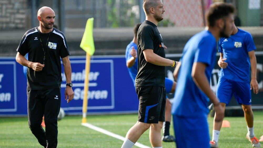 L'entraîneur Alexandre Pepe est vigilant: il apprend à connaître ses joueurs avant de se lancer dans une mission compliquée.