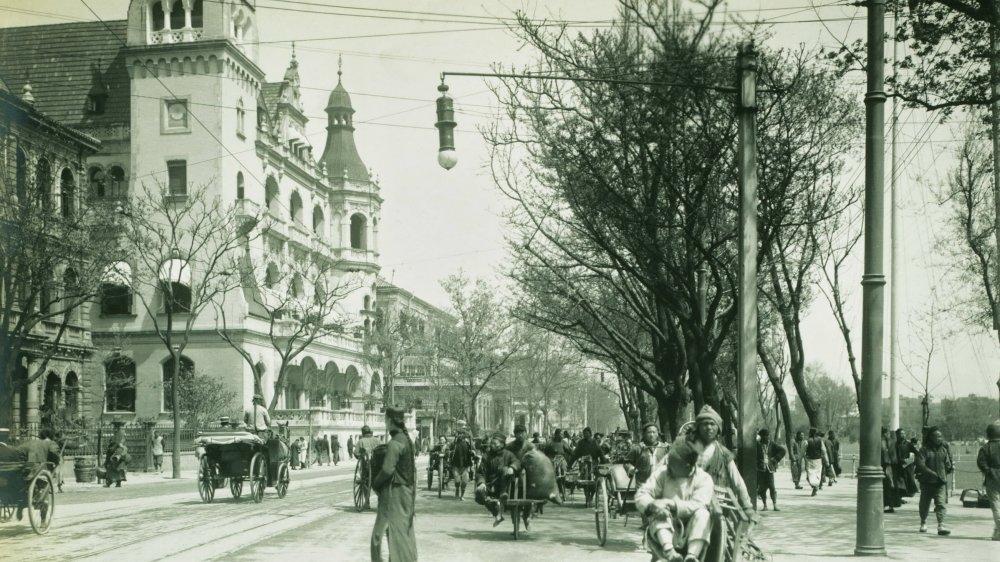 Shanghai vers 1910.