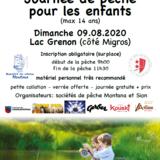 Journée d'initiation à la pêche pour les enfants