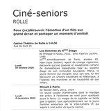 Ciné-seniors Rolle - Minuit à Paris