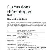 Discussions thématiques