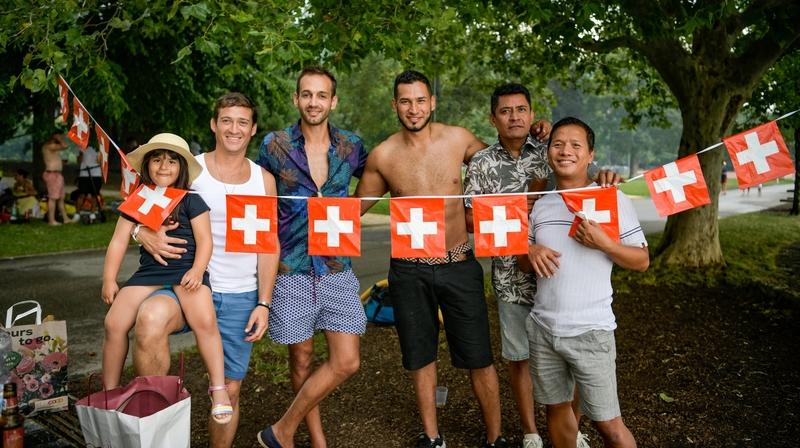 1er Août: ambiance festive au bord du lac de Neuchâtel
