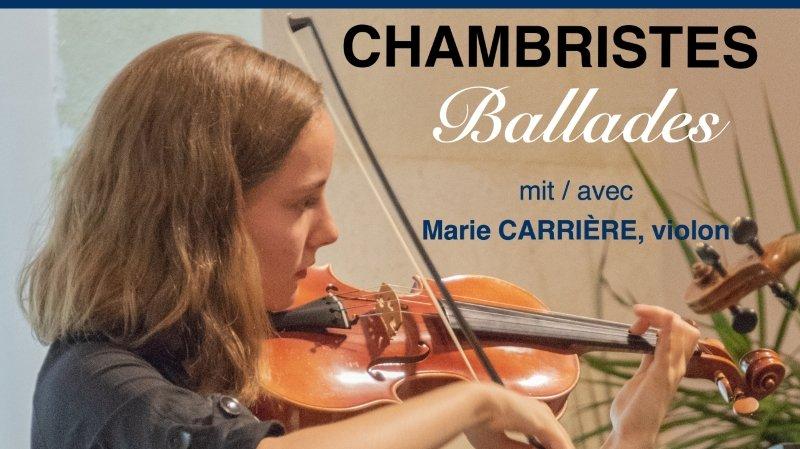 Concert : Chambristes en ballades