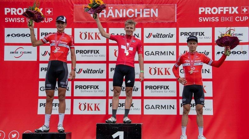 Alexandre Balmer se «satisfait» de sa médaille d'argent aux championnats de Suisse
