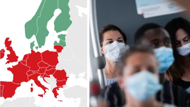 Coronavirus: où le port du masque est-il obligatoire en Europe?