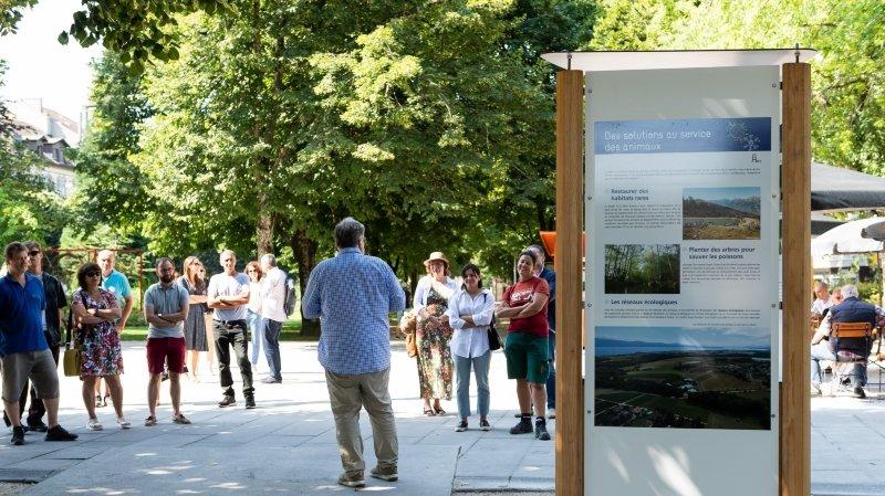 Neuchâtel: une expo pour comprendre les changements climatiques