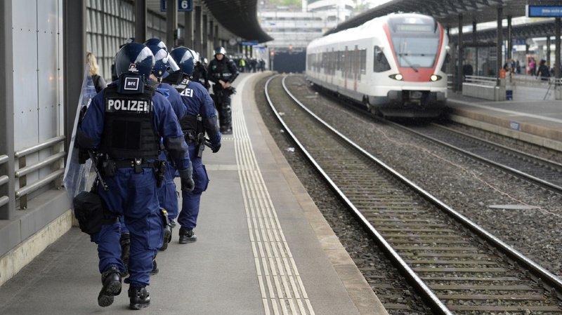 Berne: supporters de football condamnés après l'attaque d'un train