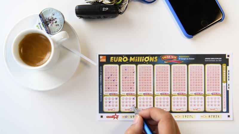 Loterie: le tirage de l'Euro Millions n'a pas fait d'heureux gagnant