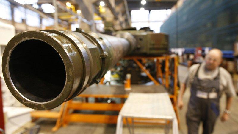 L'Europe a importé pour presque 270 millions de francs d'armes suisses.