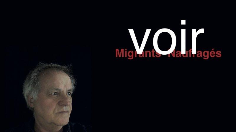 """Exposition Jean Devost """"Migrants Naufragés -VOIR-"""""""