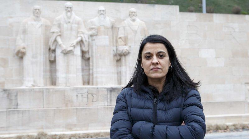 Anna Gabriel s'est réfugiée à Genève.