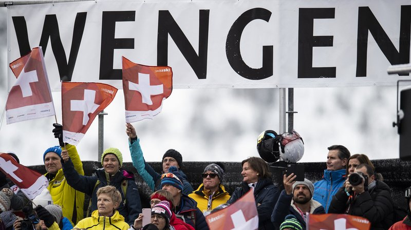 Les organisateurs des courses du Lauberhorn ont découvert avec surprise l'idée de remettre leur slalom dominical à Schladming. (archives)