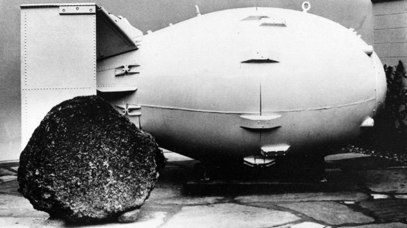 Des bombes comme cela, les Etats-Unis en ont des centaines. (illustration)
