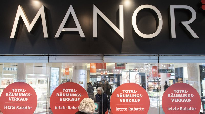 Restructuration: Manor supprime plus de 470 emplois