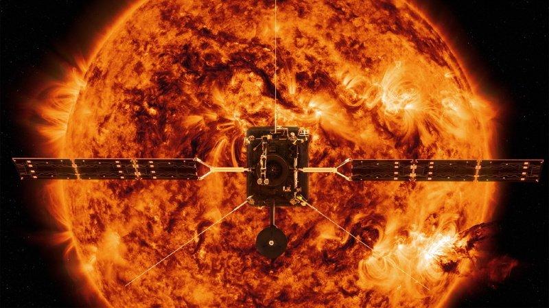 Espace: la sonde Solar Orbiter révèle des images inédites du Soleil