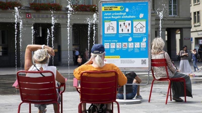 Depuis deux semaine, Berne communique les localités dans lesquelles surviennent les nouveaux cas.