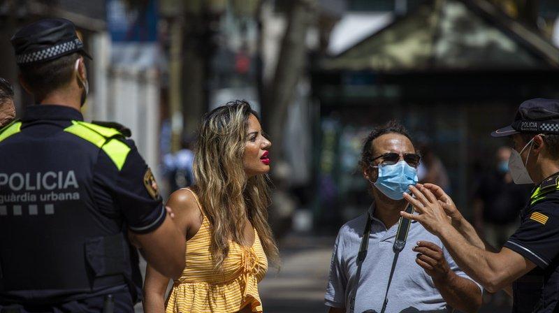 Coronavirus: plus de 200'000 personnes reconfinées en Catalogne