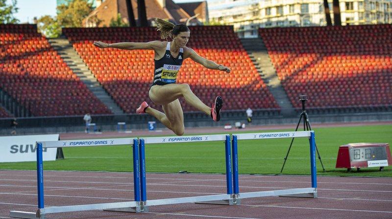 Athlétisme – Inspiration Games à Zurich:Kambundji en douceur, Sprunger en progrès