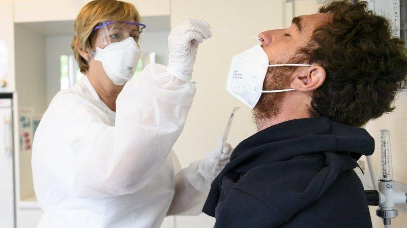 Covid-19: douze cas positifs enregistrés en 24heures dans le canton de Neuchâtel