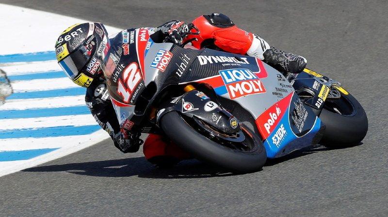 Moto – GP d'Espagne: Lüthi décevant 19e des qualifications