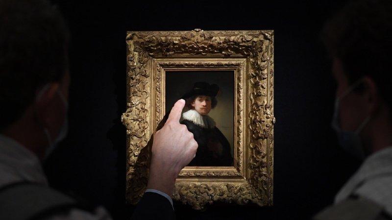 Grande-Bretagne: rare autoportrait de Rembrandt vendu plus de 16 millions de francs