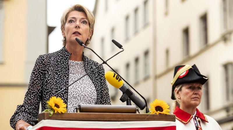 Karin Keller-Sutter a loué la concordance et la capacité de compromis.
