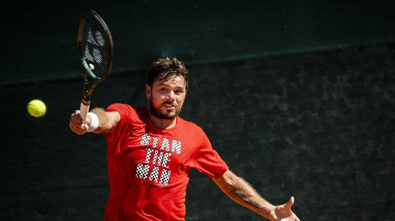 Tennis: Stan Wawrinka s'impose en trois sets pour son retour