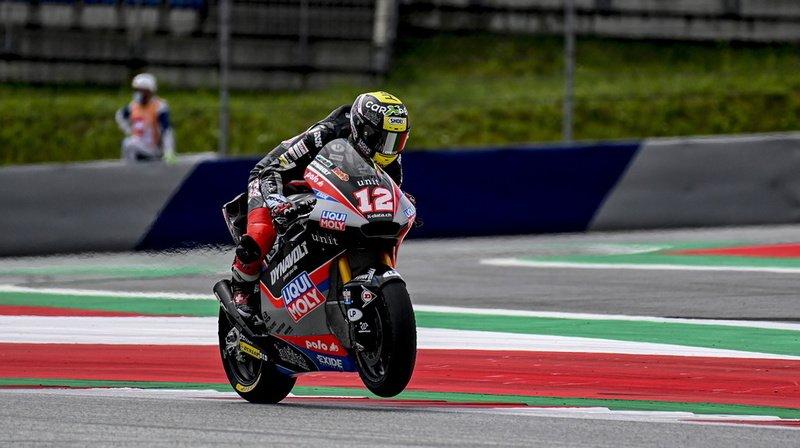 Moto – GP d'Autriche: les deux Suisses Lüthi et Aegerter terminent dans les points