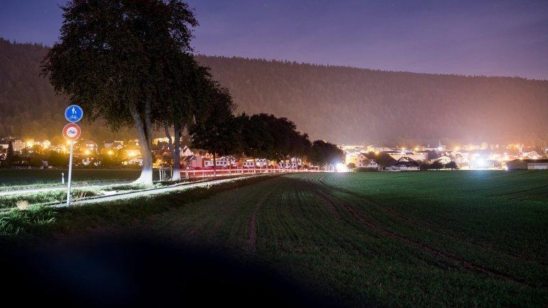 Cernier, dernier village de Val-de-Ruz à plonger dans l'obscurité