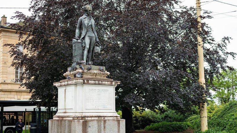 Statue de David de Pury: la Ville de Neuchâtel veut réfléchir à son passé
