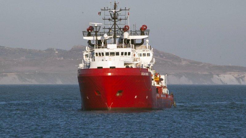 Italie: l'Ocean Viking stoppé pour raisons «techniques»