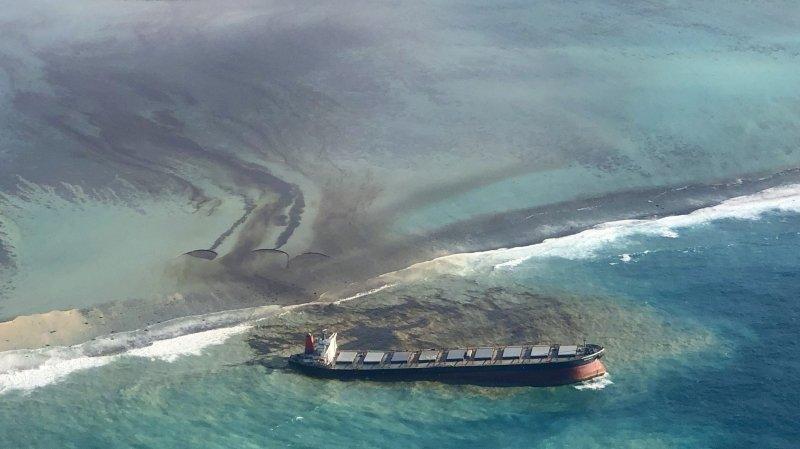 Marée noire: l'île Maurice craint une catastrophe