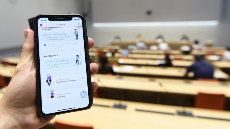 Technologie: la lourdeur de l'administratif fait ramer Swisscovid