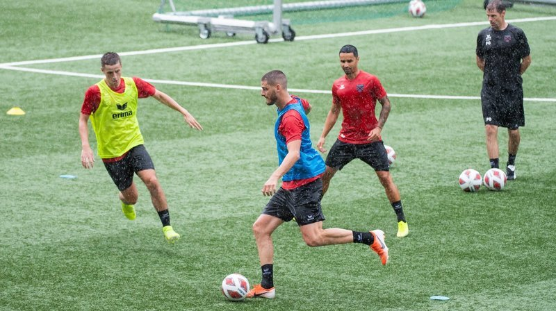 Les Xamaxiens ont disputé leur premier match amical après une semaine de préparation.