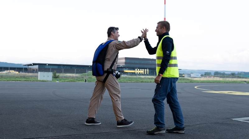 Profession: pilote d'essai pour SolarStratos