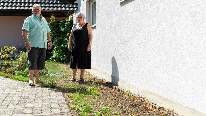 Fontaines: une conduite d'eau a lâché, la facture est salée pour le propriétaire