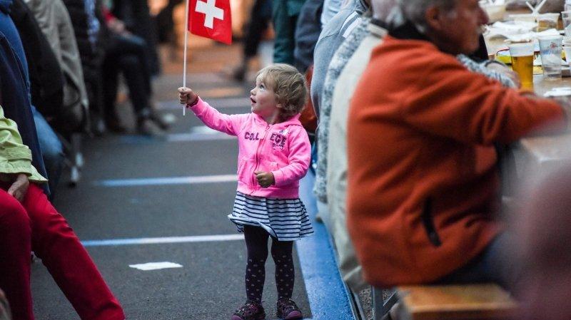 La Chaux-de-Fonds veut se sublimer avec 2300 drapeaux pour le 1er Août